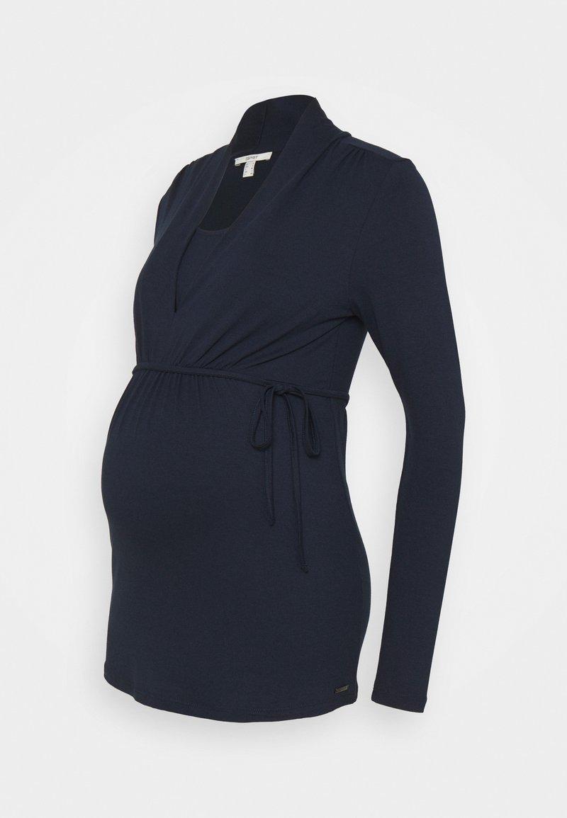 Esprit Maternity - NURSING - Long sleeved top - night blue