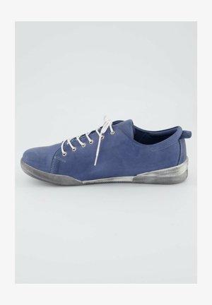 VINTAGE LOOK - Sportieve veterschoenen - light blue