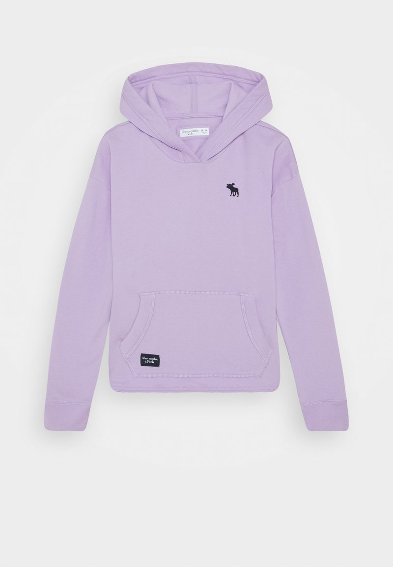 Abercrombie & Fitch - SOLID - Hoodie - purple