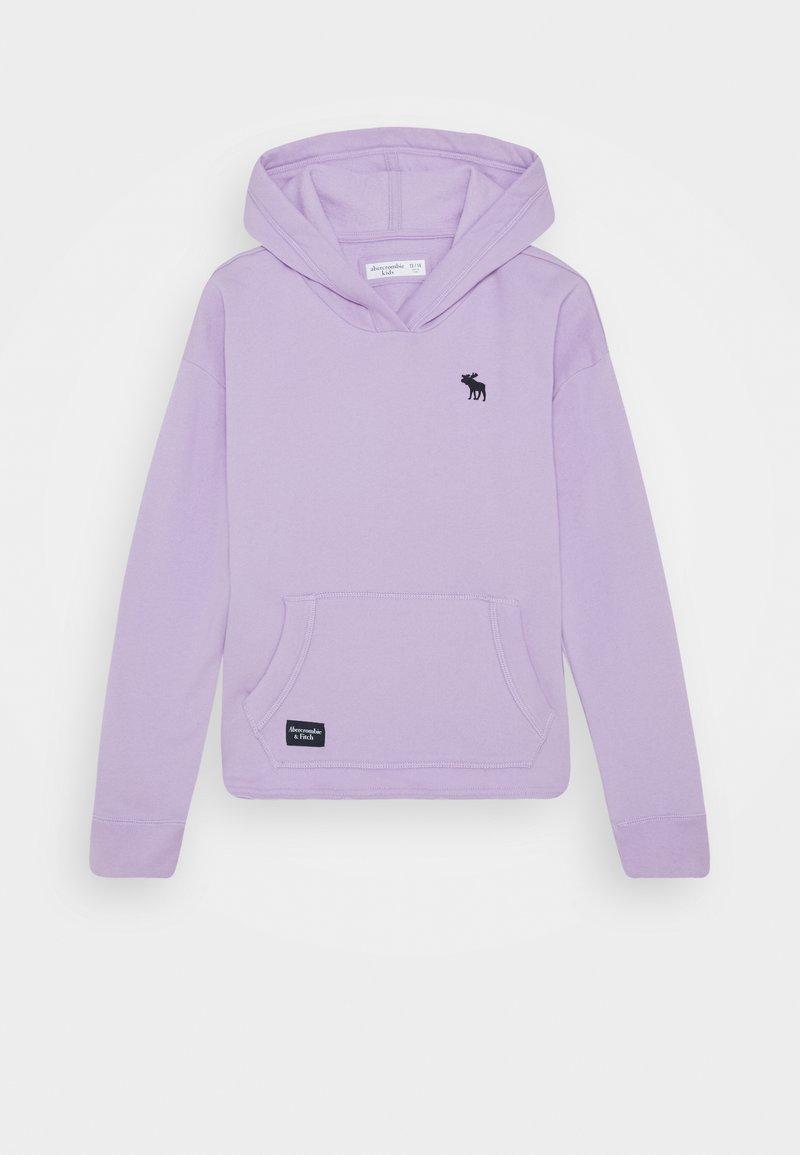Abercrombie & Fitch - SOLID - Felpa con cappuccio - purple