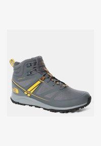 The North Face - M LITEWAVE MID FUTURELIGHT - High-top trainers - zinc grey/saffron - 0