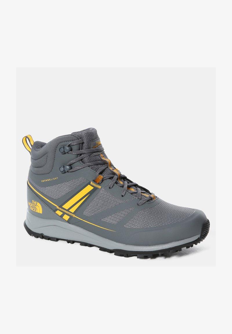 The North Face - M LITEWAVE MID FUTURELIGHT - High-top trainers - zinc grey/saffron