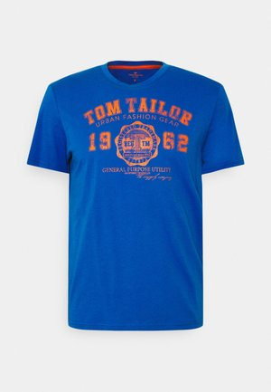 LOGO TEE - T-shirt med print - clearly blue