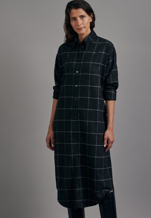 Shirt dress - grau