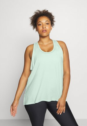 KNOCKOUT TANK - T-shirt sportiva - seaglass blue