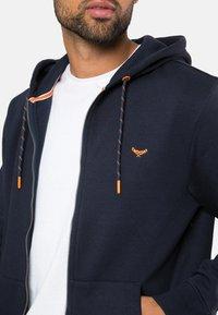 Threadbare - TANGERINE - Zip-up hoodie - blau - 4