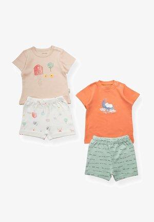 2 PACK SET - Shorts - orange