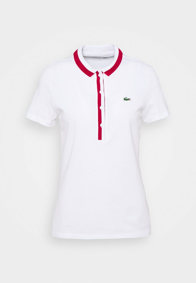 GOLF - Polo - white/ruby