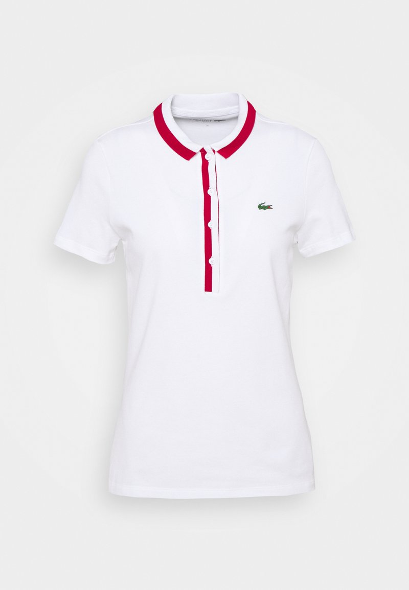 Lacoste Sport - GOLF - Polo shirt - white/ruby