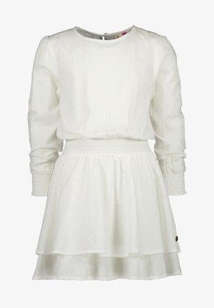 PIDILLA - Korte jurk - real white