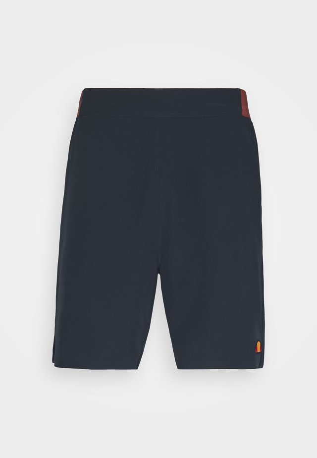 PIZZANO SHORT - Pantaloncini sportivi - navy