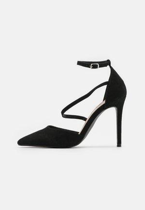 CRYSTAL - High heels - black