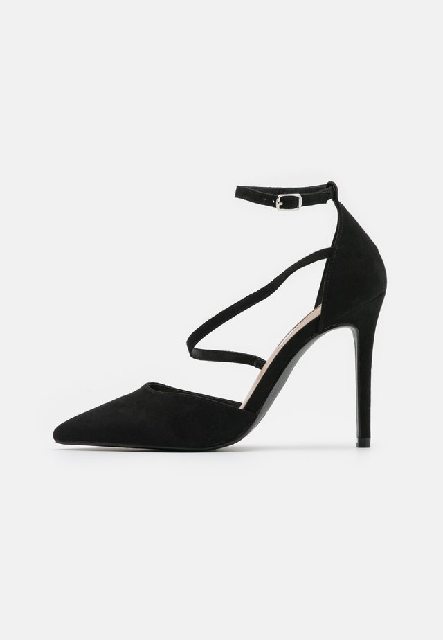 CRYSTAL - Zapatos altos - black