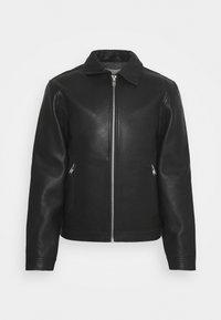 Zadig & Voltaire - LUK BONDED - Leather jacket - noir - 0