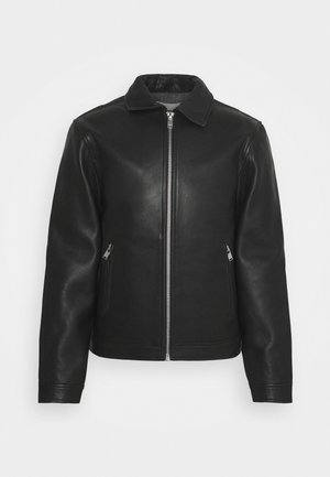 LUK BONDED - Leather jacket - noir