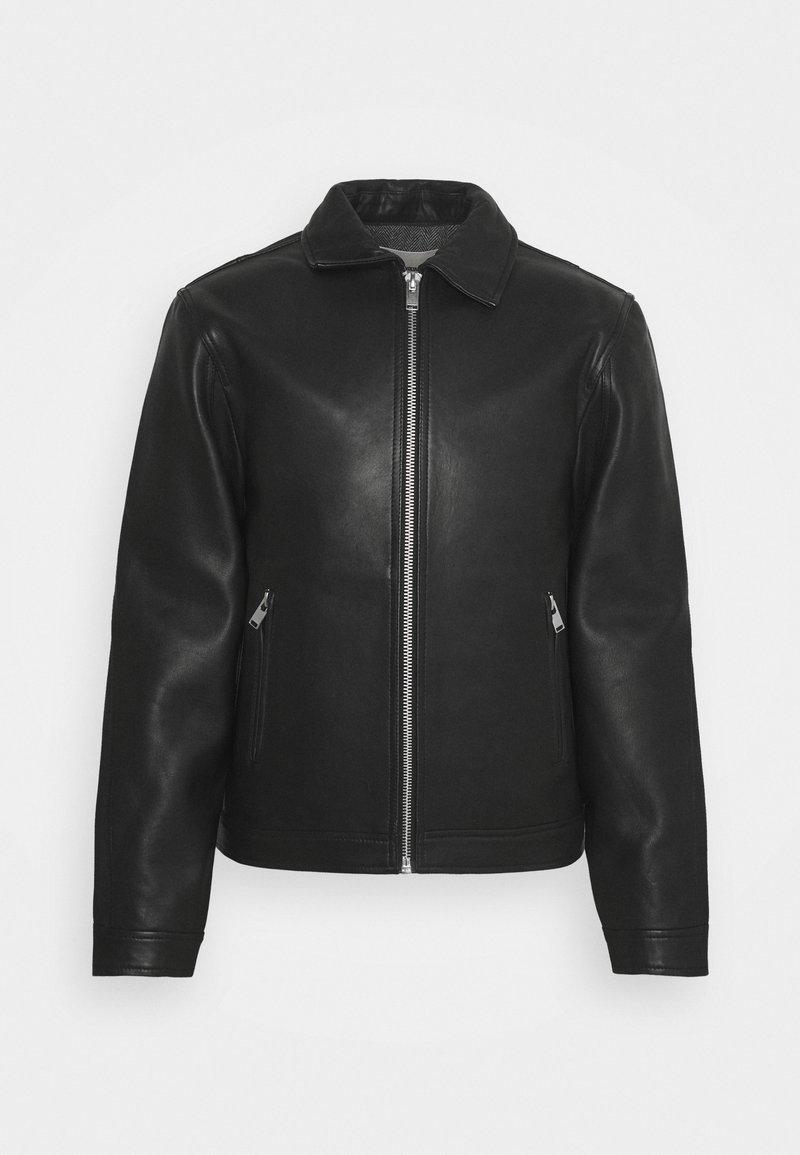 Zadig & Voltaire - LUK BONDED - Leather jacket - noir