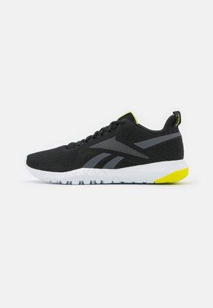 FLEXAGON FORCE 3.0 - Sports shoes - core black/pure grey/acid yellow