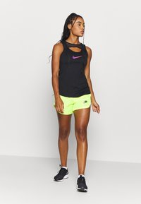 Nike Performance - TANK RUNWAY - Top - black - 1