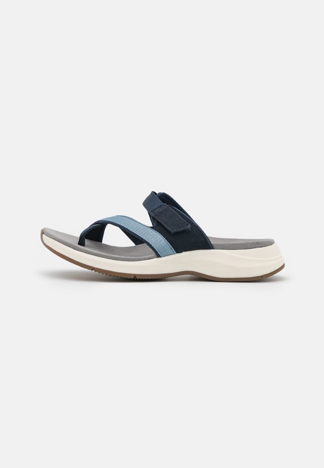 SOLAN SURF - T-bar sandals - navy