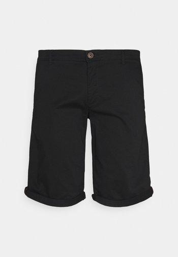 JJIBOWIE JJSHORTS SOLID - Shorts - black