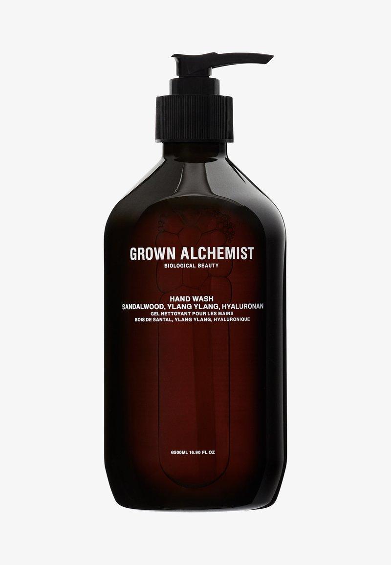 Grown Alchemist - HAND WASH SANDALWOOD, YLANG YLANG, NATRIUM-PCA - Liquid soap - -
