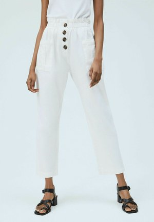 HAZEL - Trousers - blanco off