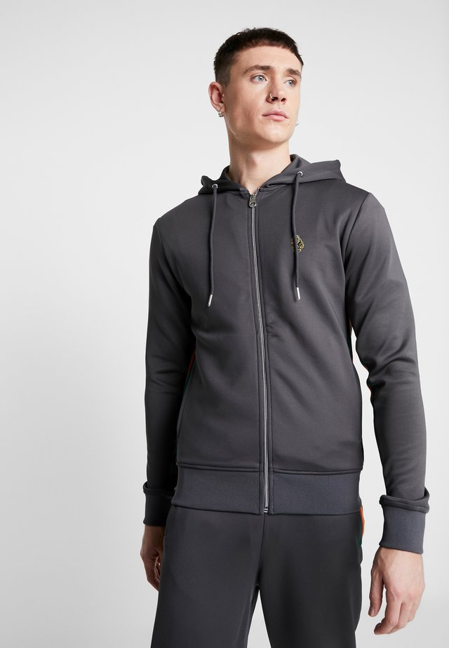 JAGUAR - Zip-up hoodie - charcoal