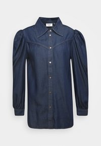 DAY Birger et Mikkelsen - DAY PRETEND - Button-down blouse - indigo stone wash - 0