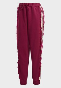 adidas Originals - BELLISTA SPORTS INSPIRED JOGGER PANTS - Tracksuit bottoms - power berry - 4