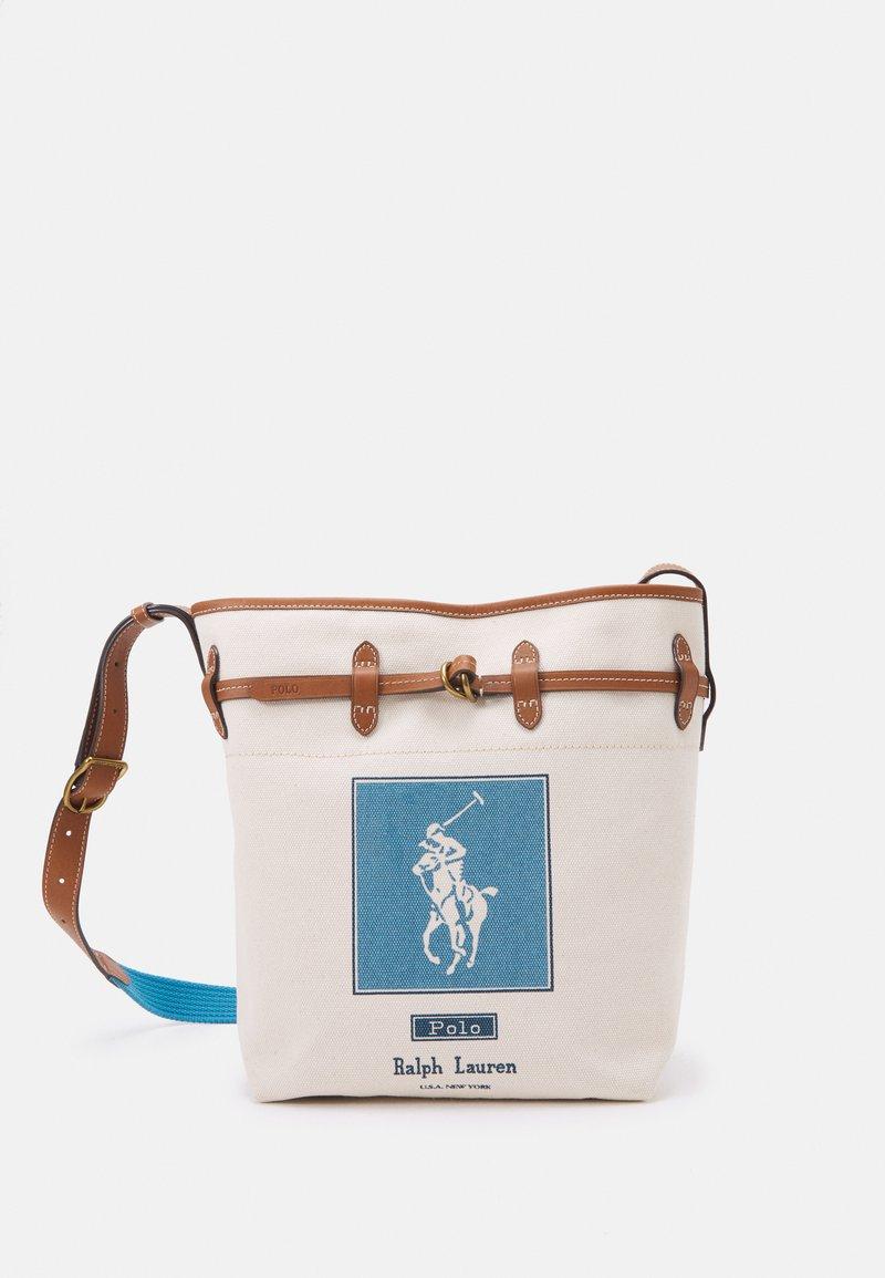 Polo Ralph Lauren - POLO PRINTED SET - Handbag - ecru/blue