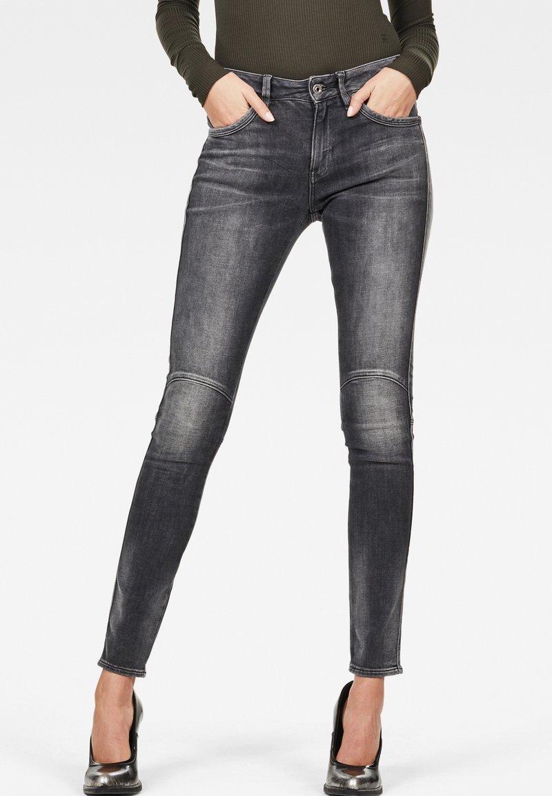 G-Star - G-JACKPANT 3D MID SKINNY - Jeans Skinny Fit - black
