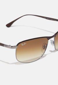 Ray-Ban - Sunglasses - brown on gunmetal - 3