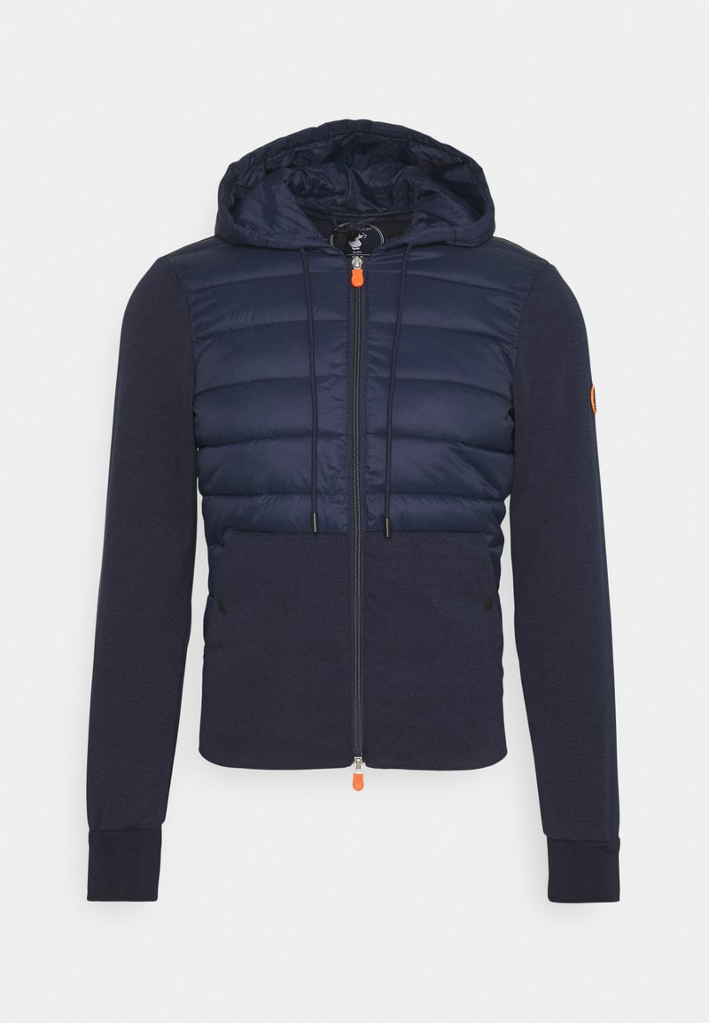 Save the duck - CONNOR HOODED JACKET - Light jacket - navy