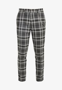 CHARCOAL TARTAN  - Broek - grey