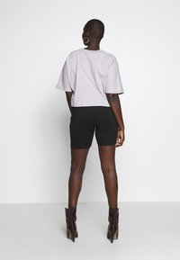 Missguided Plus - CYCLING 2 PACK - Shorts - black - 3