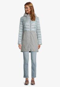 Amber & June - MIT KAPUZE - Winter coat - rauchblau - 1