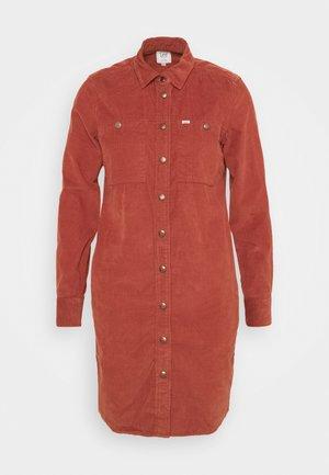 DRESS - Kjole - red ochre