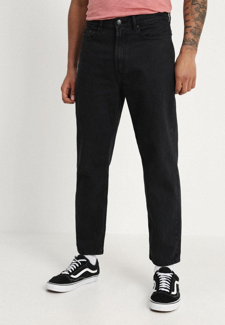 Obey Clothing - HARDWORK - Džíny Relaxed Fit - dusty black
