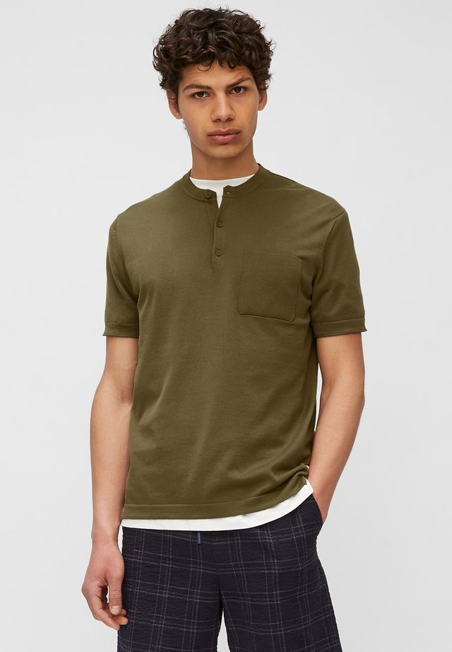 T-shirt basic - fresh olive