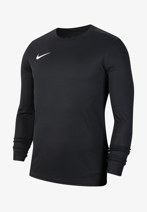 Long sleeved top - schwarzweiss