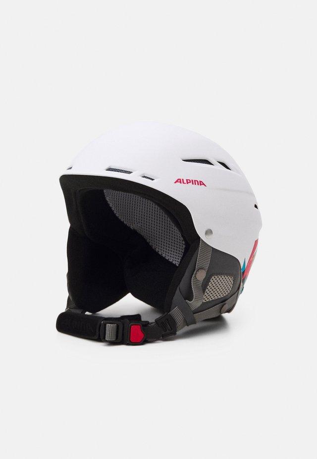 BIOM UNISEX - Hjelm - white/pink matt