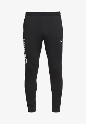 FC  - Tracksuit bottoms - black/white