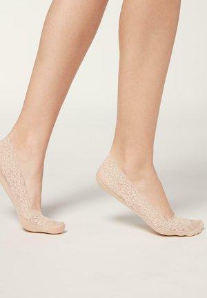 MODISCHE UNSICHTBARE - Trainer socks - pizzo naturale
