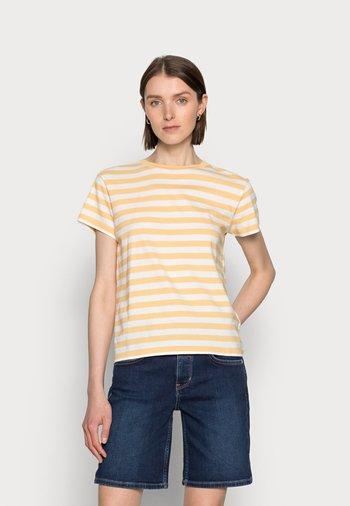 Print T-shirt - vanilla