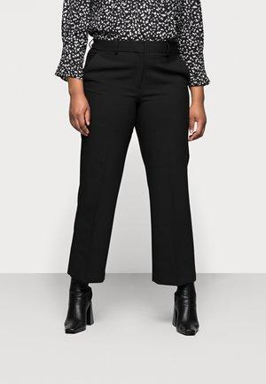 SLFRIGA WIDE PANT - Pantaloni - black