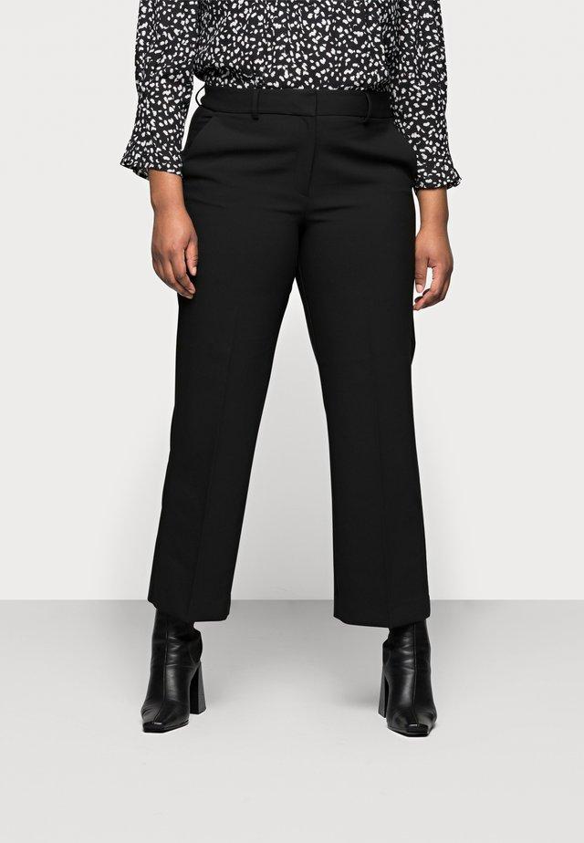 SLFRIGA WIDE PANT - Bukse - black