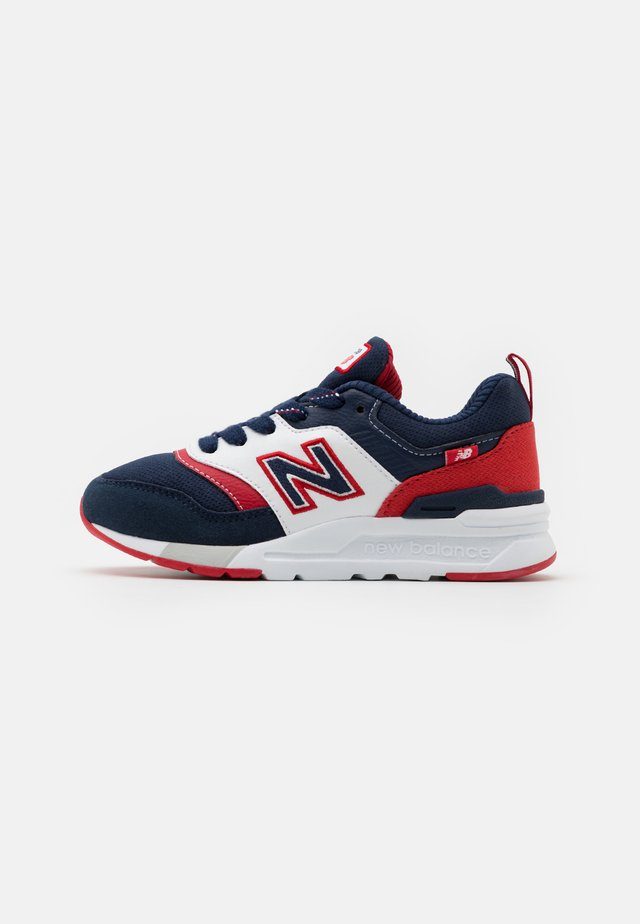 PR997HVN UNISEX - Baskets basses - navy/red