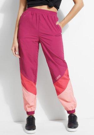 Trousers - roze multi