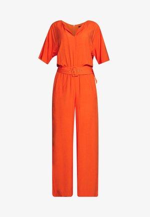 MLA-040EO1L302      JUMPSUIT - Jumpsuit - red orange