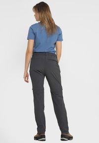 Schöffel - ASCONA ZIP OFF - Outdoor trousers - asphalt - 2